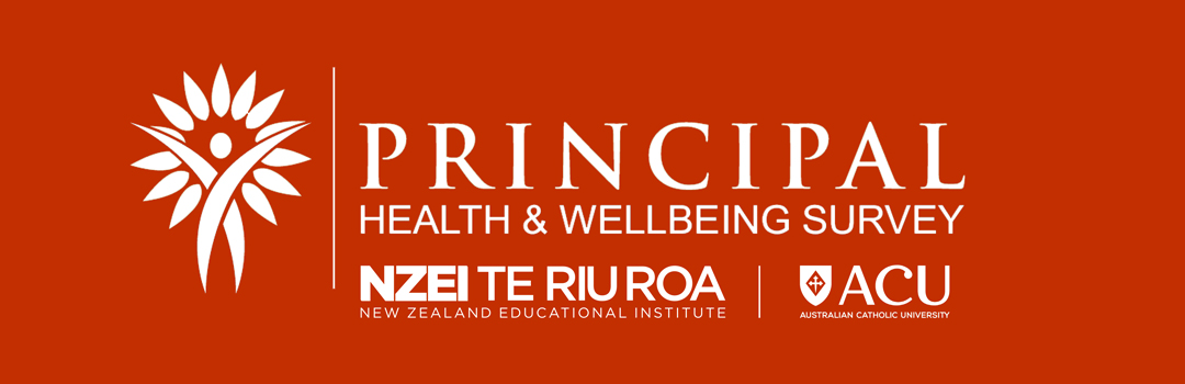 Principal Health and Wellbeing Survey: NZEI Te Riu Roa | ACU
