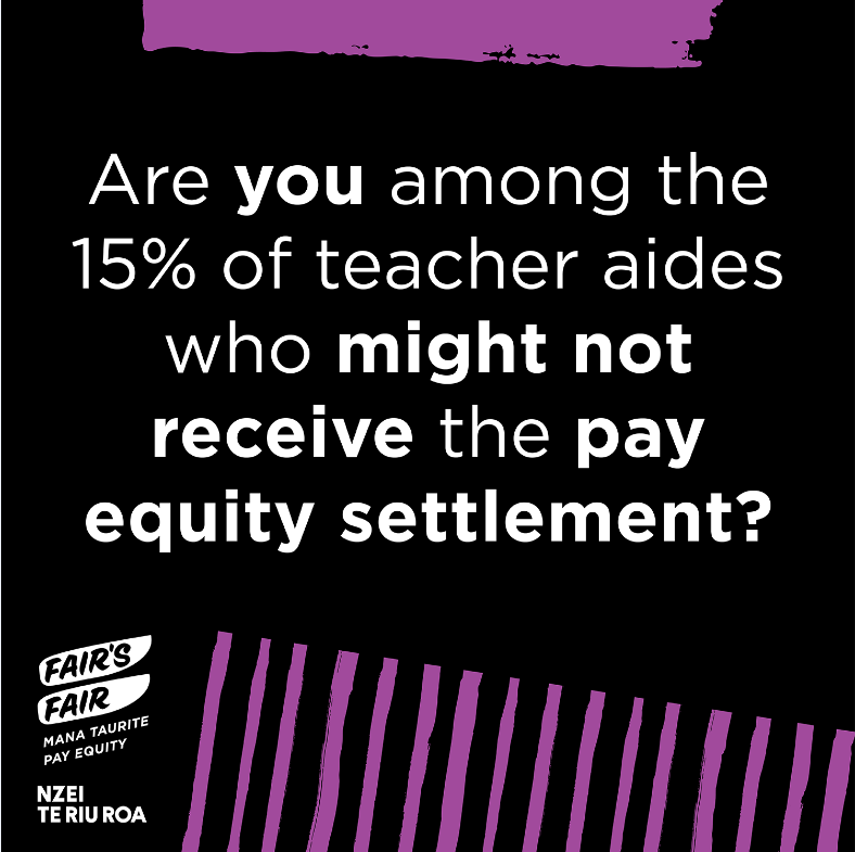 15% pay equity
